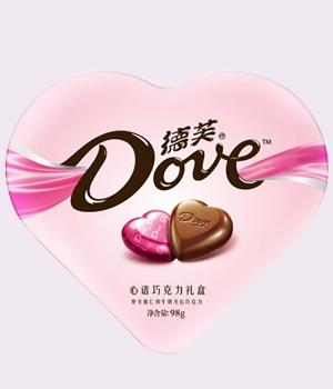 德芙心语巧克力