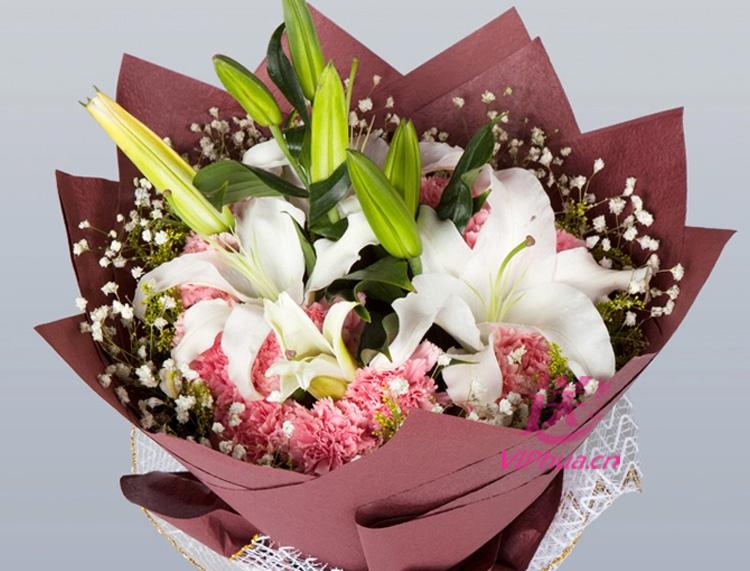 有她的守候—快送鲜花网|探望病人鲜花|幸福团圆鲜花|母亲节送花