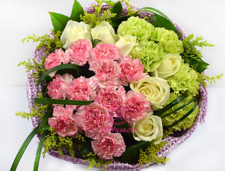 微笑相伴—快送鲜花网|父亲节鲜花速递|母亲节订花|同城快递鲜花|网上订鲜花|节日鲜花