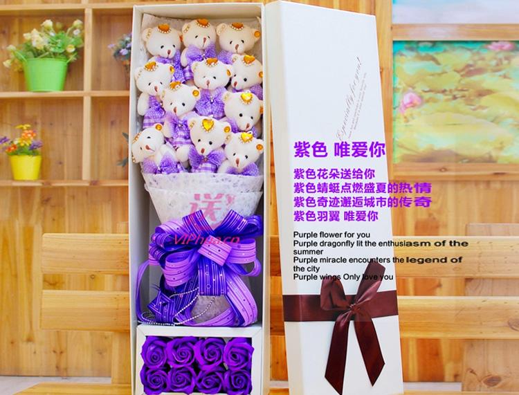 彼此牵手—快送鲜花网|异地送礼物|卡通花束|公仔外偶|毛绒玩具|网上买礼物|圣诞节礼物