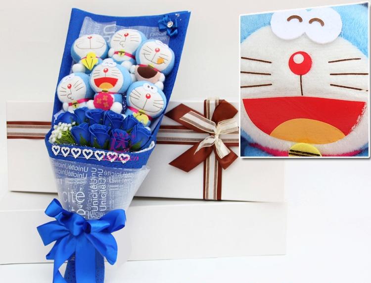 贴紧的心—快送鲜花网 异地送礼物 卡通花束 公仔外偶 毛绒玩具 网上买礼物 圣诞节礼物