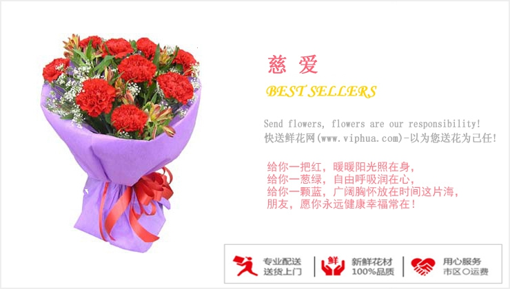 慈爱—快送鲜花网 父亲节送花 鲜花速递 订鲜花 网上预定鲜花