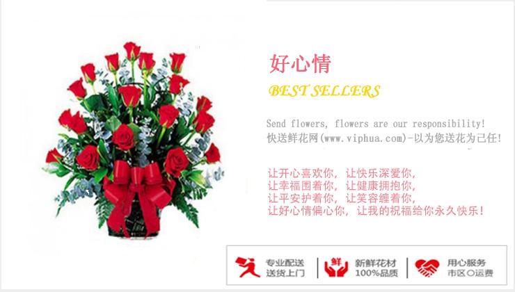 好心情—快送鲜花网|购买花篮|鲜花花篮|送花篮|订购花篮|异地送花|看望病人花篮