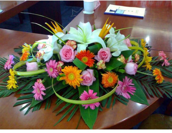 桌花(B2款)—快送鲜花网|购买花篮|鲜花花篮|送花篮|订购花篮|异地送花|看望病人花篮