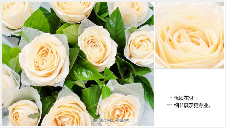 温柔的目光—快送鲜花网 成都鲜花店 网上订鲜花 送花网站 鲜花快递